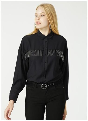 Loft Gömlek Siyah